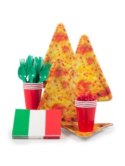 17 best images about pizza party ideas on pinterest for Balloon decoration kit