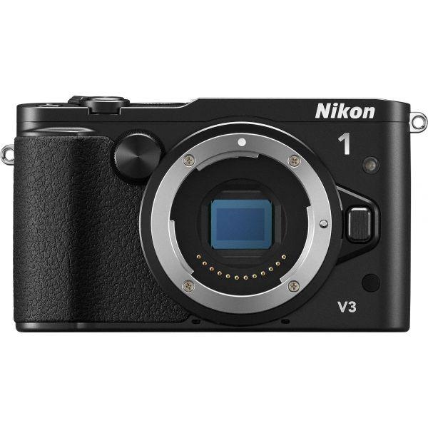 #Nikon 1 V3 #MILC #fényképezőgép váz  A Nikon új helyzetet teremtett a fényképezés világában a hibrid AF rendszerrel, így a másodperc törtrésze alatt lejátszódó eseményeket is hihetetlen precizitással rögzítheti. A 18,4 megapixeles CMOS-képérzékelőnek, valamint a 160 és 12 800 között állítható ISO-érzékenységnek köszönhetően csodálatosan részletes RAW-képek és HD videók készülhetnek, bármilyenek legyenek is a fényviszonyok. A könnyen használható, dönthető érintőképernyő a fontos fényképezési…
