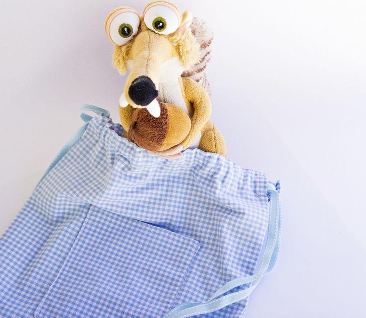 Cody - Sacchetto realizzato a mano in cotone : Borse bambini di fabricup