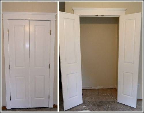 16 best images about bathroom door on pinterest On small double french doors