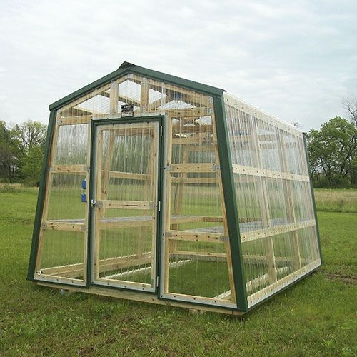 how to make a simple greenhouse