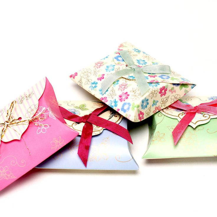 favour boxes by postbox party | notonthehighstreet.com
