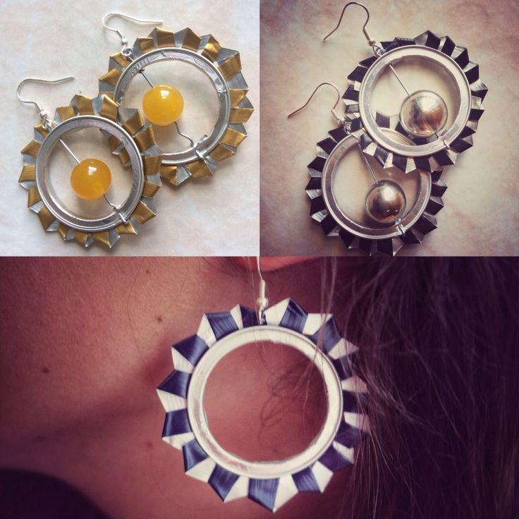 #orecchini #nespresso #cerchi #capsule #pendenti #callme #fantasia