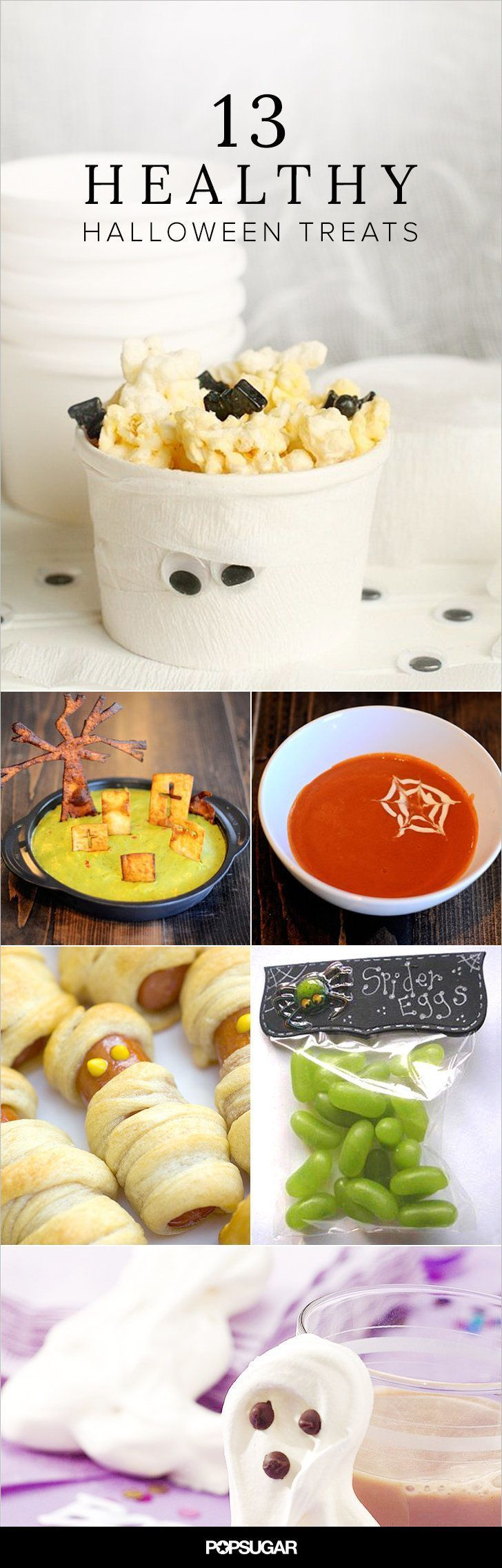 Healthy alternatives to all of the candy your kids will get this Halloween.