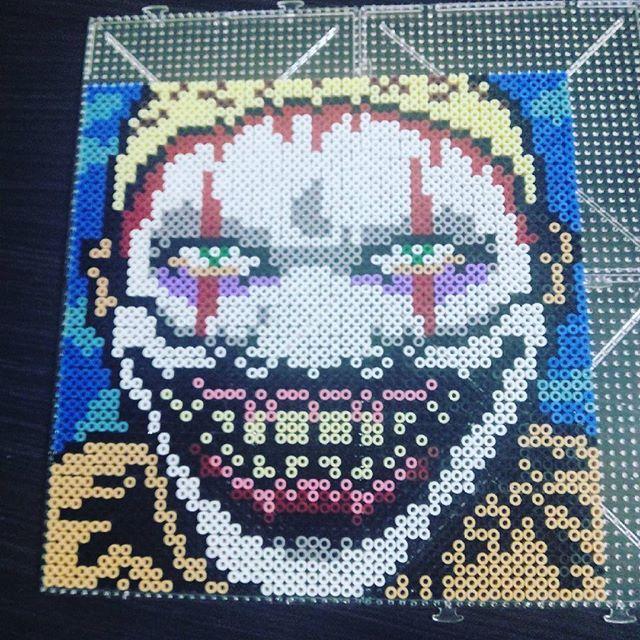 66 Best Ideas About Horror Movies Pixel ArtPerler Beads