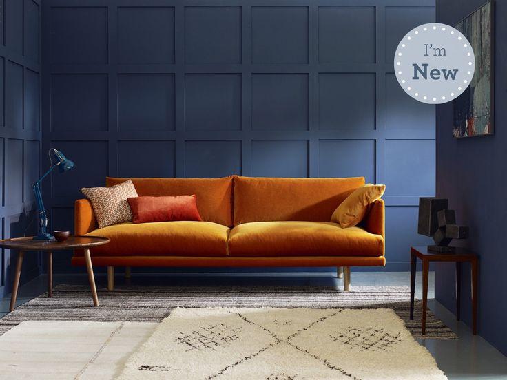 Modern Mohair Sofa, UK - Ottilie
