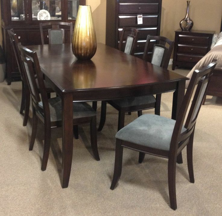 Martini Studio Dining Table The Dark Brown Burnished Finish Of
