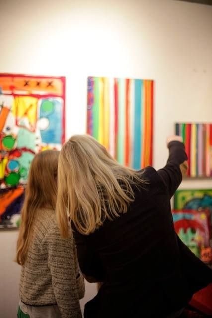 Colorfield Gallery - Le vernissage