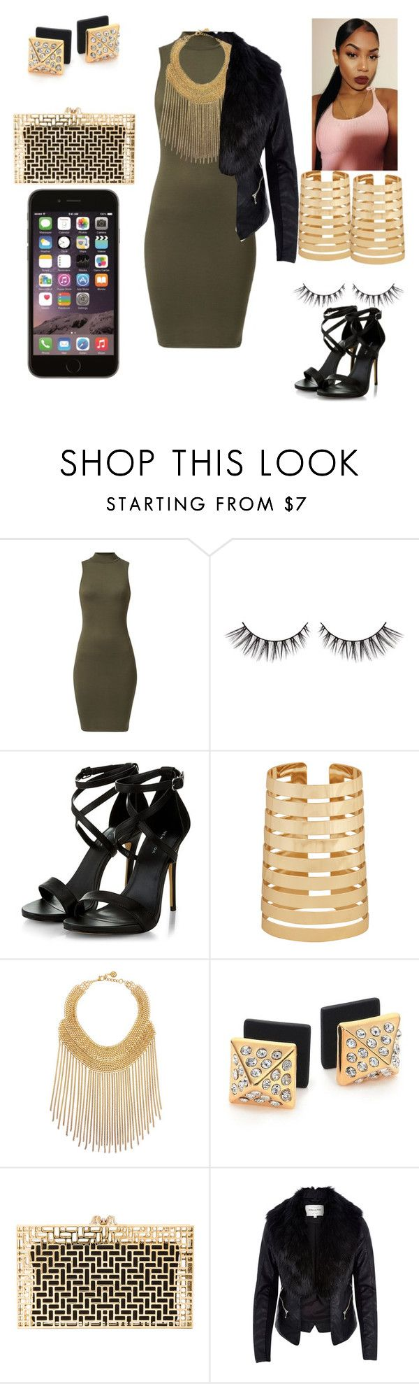 """Drink Team "" by mrsfashionkilla ❤ liked on Polyvore featuring Forever 21, Ben-Amun, Marc by Marc Jacobs, Charlotte Olympia and River Island"