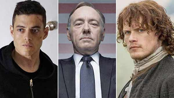 Might a fan favorite like Rami Malek or Sam Heughan pull off a Golden Globes jawdropper against Kevin Spacey?