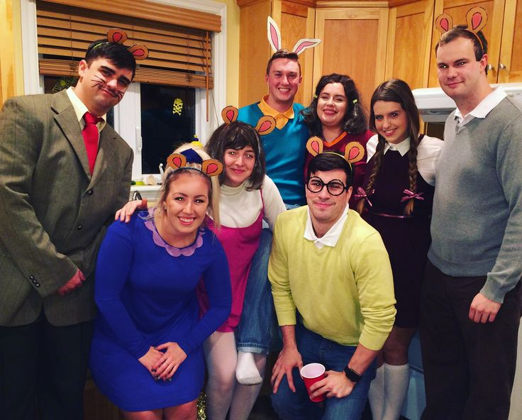 Arthur and friends (buster, Francine, Muffy, The Brain, D.W, Nadine & Mr. Ratburn