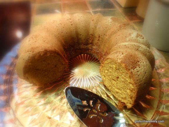 Gluten-Free Pumpkin Spice Bundt CakeBundt Cakes, Pumpkin Spices, Cake Recipe, Spices Bundt, Pumpkin Cake, Fall Recipe, Gluten Free Pumpkin, Thanksgiving Recipe, Gluten Fre Pumpkin