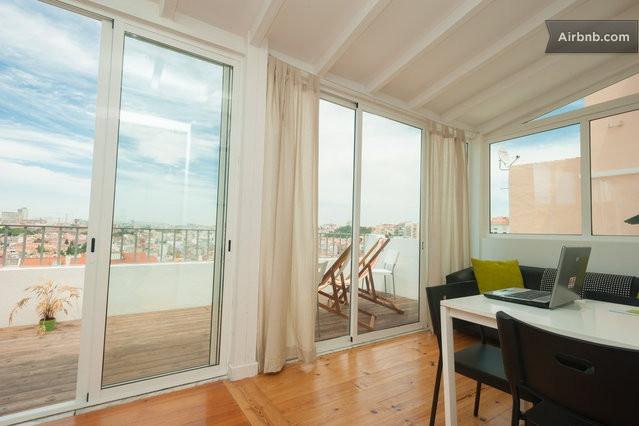 Lisbon Terrace  ( Wi-Fi Free ) in Lisbon from $60 per night