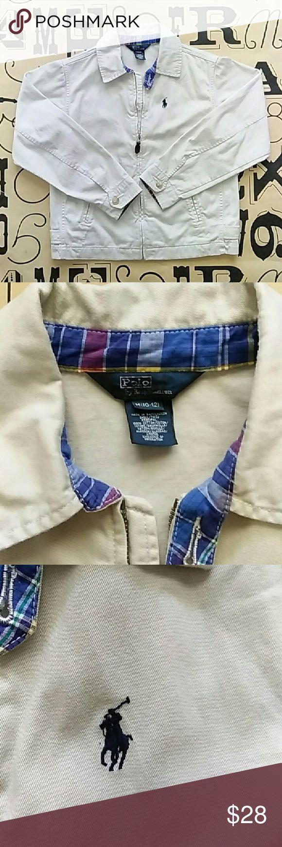 Polo by Ralph Lauren kids khaki jacket Gently used Polo by Ralph Lauren kids khaki jacket size medium 10/12 Polo by Ralph Lauren Jackets & Coats