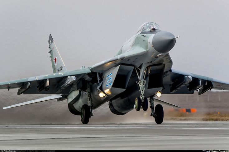 """russian-air-force: """"MiG29 """""""