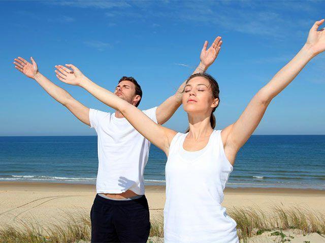 Дыхательная гимнастика при хроническом бронхите / Будьте здоровы