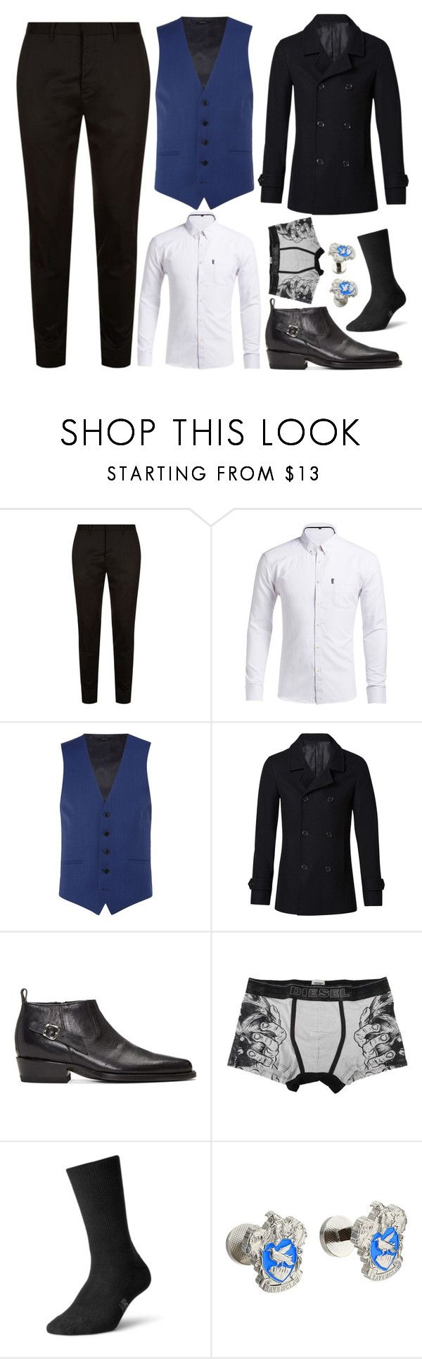 """""""Lucian Orion Morningstar - Formal Outift    Mini Game 06"""" by natasha-maree13 ❤ liked on Polyvore featuring AllSaints, Kenneth Cole, Witchery, Enfants Riches Déprimés, Diesel, New Balance, Cufflinks, Inc., men's fashion, menswear and polyvoreeditorial"""