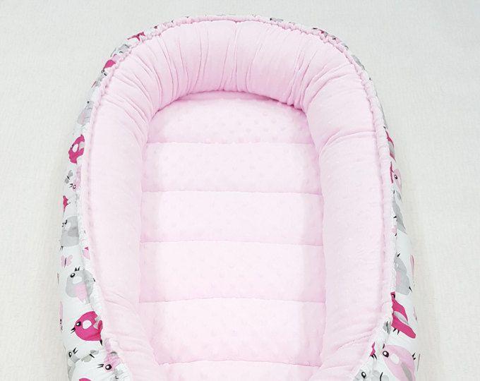 ¡LISTO PARA ENVIAR! Babynest doble cara, nido de bebé, silla de bebé, bebé positoner, nido de sueño del bebé, sueño cama, cama co, colchón extraíble