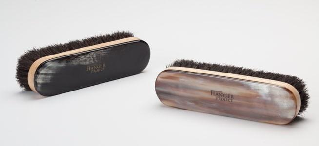 Luxury Oxhorn Garment Brush