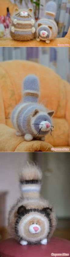 Котики-обжорики - Вязание - Страна Мам