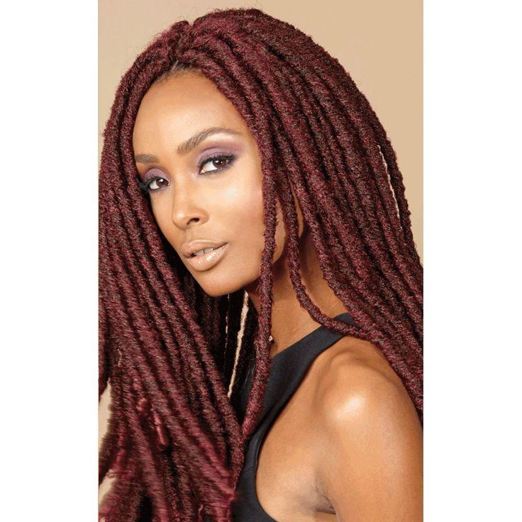 Bobbi Boss Crochet Braid Senegal Bomba Dreadlocks  Elevate Styles  Makeup  hair  Crochet