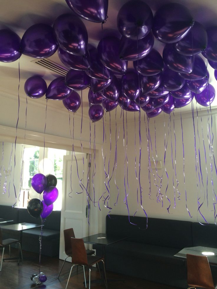 Purple Loose Helium Balloons Pinterest Purple And