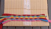 Weave Fun Summer Placemats With T-Shirt Yarn! - creative jewish mom