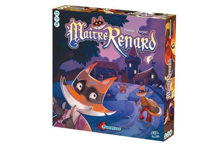 Edité par Superlud, le jeu Maître Renard a remporté l'As d'Or - Jeux de l'année Enfants du Festival International des jeux de société de Cannes pour l'originalité de sa dynamique de jeu proposant de reconnaître en aveugle des formes d'animaux.