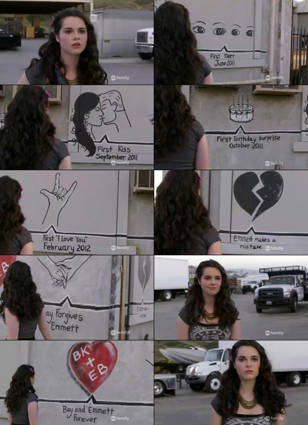 Switched at Birth..... Emmett's timeline to Bay.... made me cry | ohh so love this scene