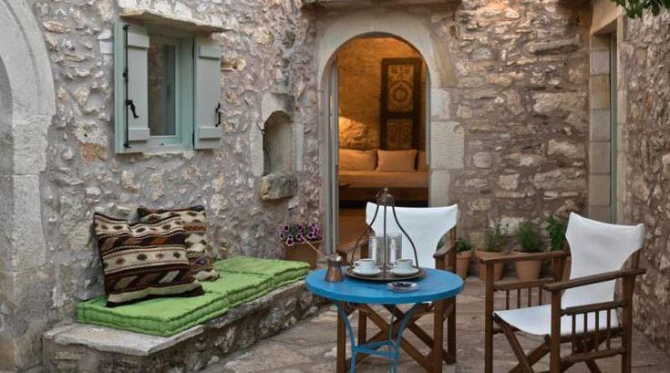 Σπίτι στην Κρήτη που κατασκευάστηκε πριν 200 χρόνια και είναι πανέμορφο  #σπίτια