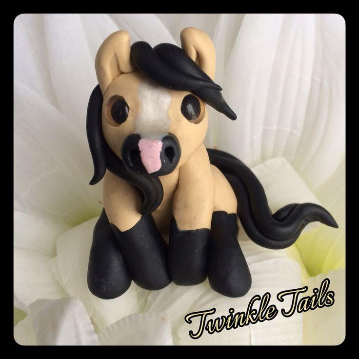 Cute Buckskin Pony! www.etsy.com/shop/TwinkleTailsGallery www.facebook.com/TwinkleTails