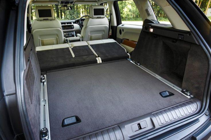 Es geht auch praktisch: Der Range Rover Sport ist nicht nur ein komfortables...