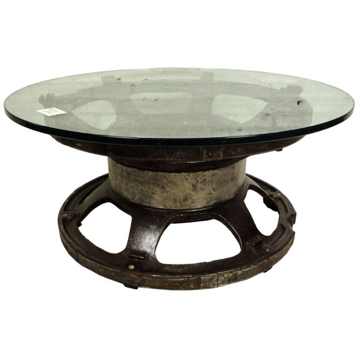 1000 images about made from old tractor parts on for Cocktail tables parts