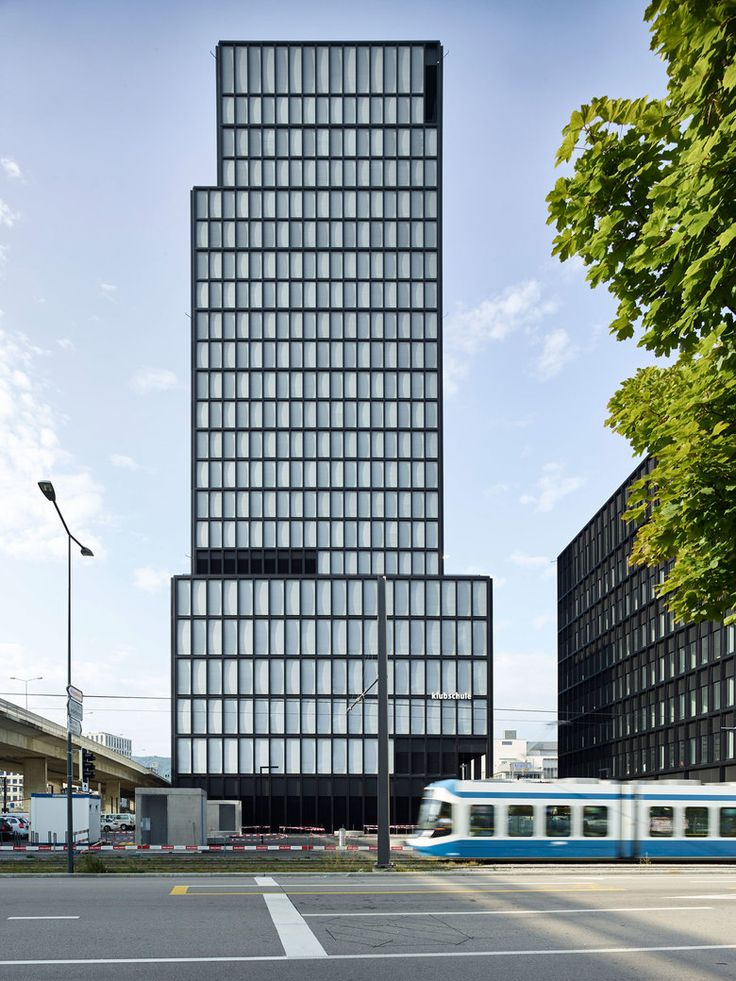 Westlink Tower und Cube Burkard Meyer Architekten