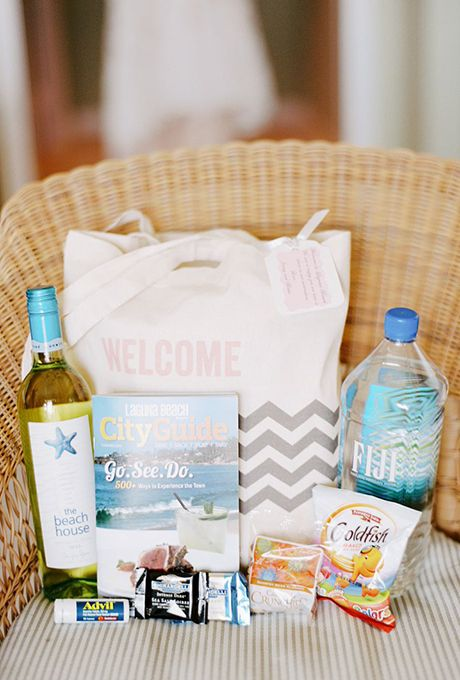 Beach Wedding Gift Basket Ideas : welcome bag ideas wedding bags wedding welcome bags wedding 2015 beach ...