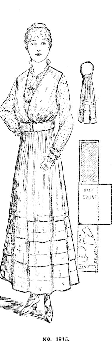A home-made bolero dress Lake County Press , Issue 2630, 4 May 1916, Page 2