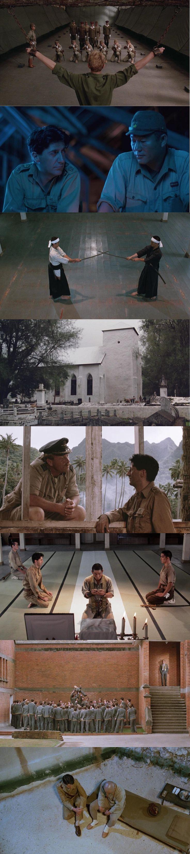 Merry Christmas Mr. Lawrence (1983). Directed by Nagisa Ôshima. Cinematography by Tôichirô Narushima.