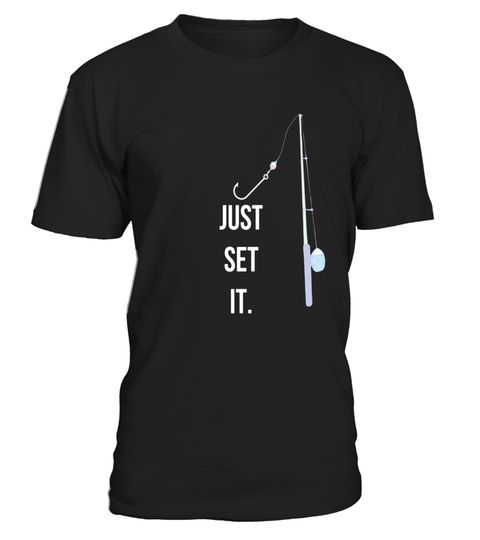 "# Fun Just Set It Fishing Gear T-shirt With Rod Reel Hook WHT .  Special Offer, not available in shops      Comes in a variety of styles and colours      Buy yours now before it is too late!      Secured payment via Visa / Mastercard / Amex / PayPal      How to place an order            Choose the model from the drop-down menu      Click on ""Buy it now""      Choose the size and the quantity      Add your delivery address and bank details      And that's it!      Tags: For a more relaxed fit…"