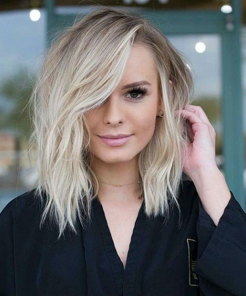 Cool Bangs For Long Hair: Effortlessly Cool New Medium Blonde Hairstyles With Side