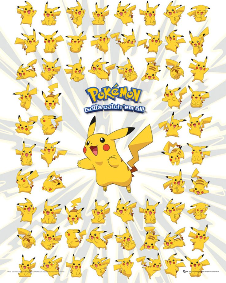 It's just a picture of Stupendous Pokemon Posters Printable