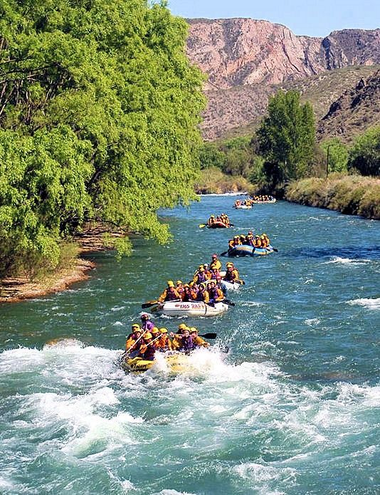 Rafting @ Mendoza River in Argentina