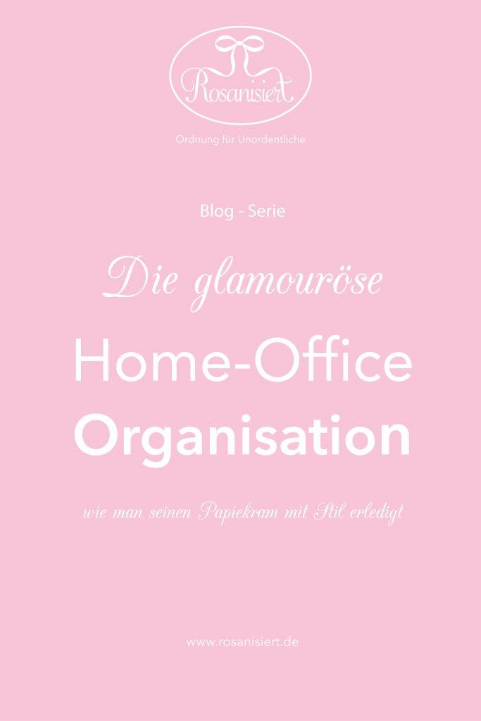 Erfahrt alles über die Organisation eurer Papiere, des Home-Office und Ordner.