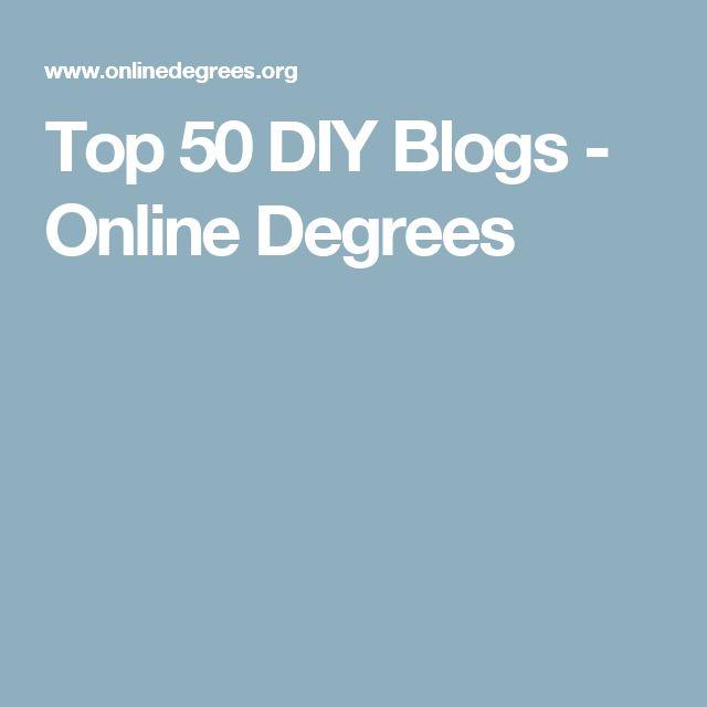 Top 50 DIY Blogs - Online Degrees