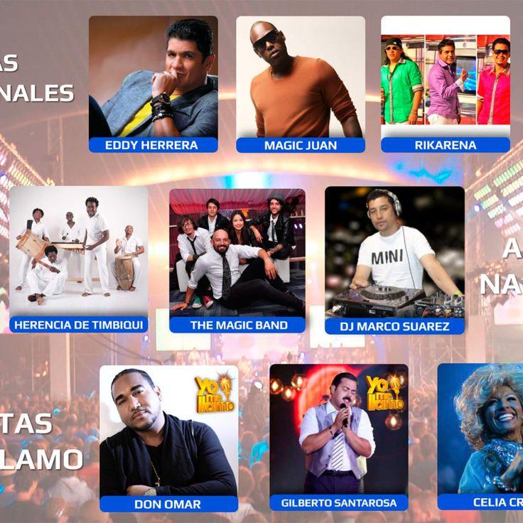 Artistas, Bandas y Agrupaciones Musicales para sus eventos sociales y empresariales