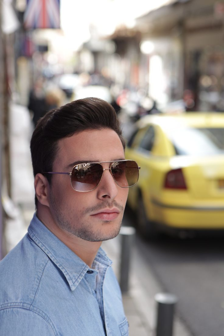 Original Vintage Eyewear Campaign 2014 ft. Apostolos Koukoulidis  Vintage Sunglasses for men