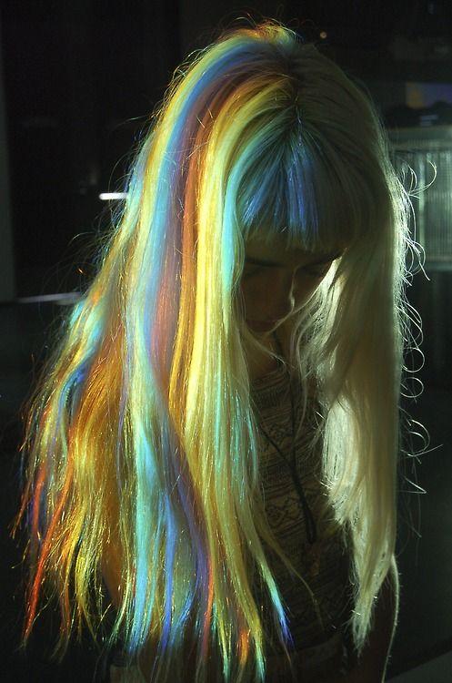 rainbow locks