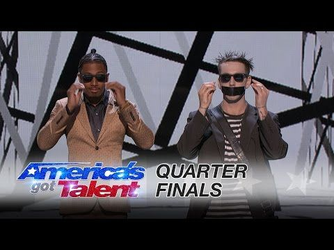 Tape Face: Modern-Day Mime Embarrasses Nick Cannon and Heidi Klum - America's Got Talent 2016 - YouTube