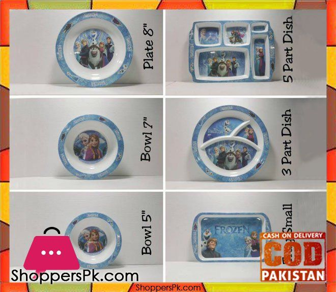 On Sale: Kids Dinner Set Six Pieces Cartoon Characters Price Rs. 750 https://www.shopperspk.com/product/kids-dinner-set-six-pieces-cartoon-characters/