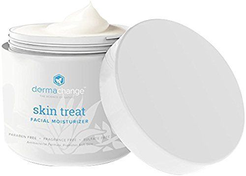 Product review for DermaChange Organic Skin Cream - Manuka Honey Face and Body Cream for Eczema, Psoriasis, Rashes, Itchiness, Redness - Night And Day Cream For Men and Woman 4oz  - For the face, but excellent anywhere on the body for even the most sensitive skin – no allergens! This is a complete solution for your skin and any skin condition! We have searched the world for the very most effective ingredients in skin care and cellular regeneration. Of course we use...