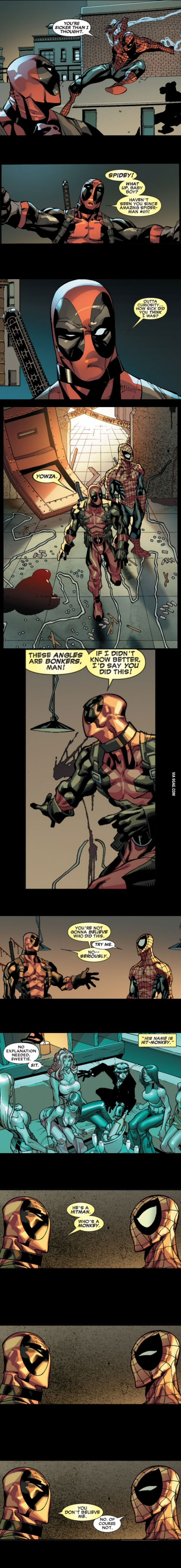 Deadpool Silly